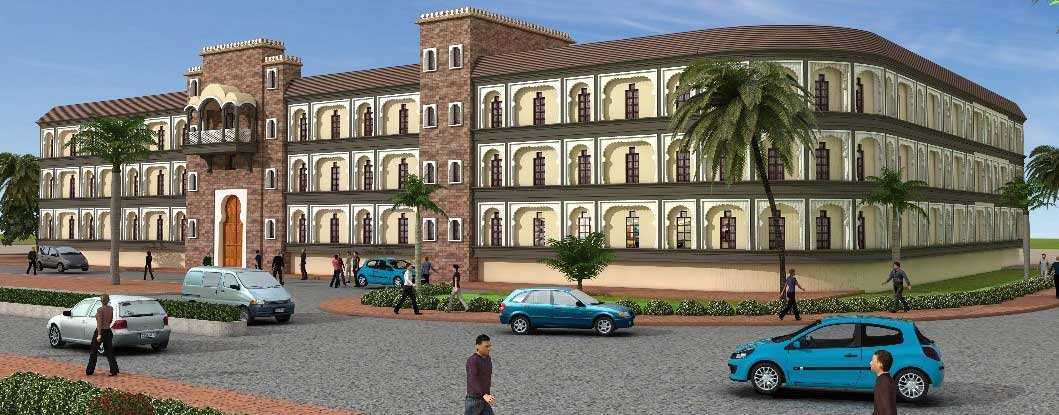Proposed cultural center at M. G. road near Devlalikar kala vithika