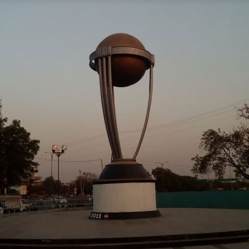 world cup trophy Indore