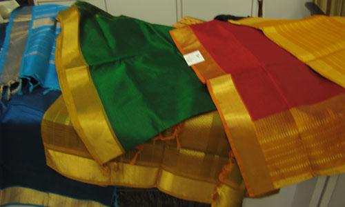 Maheshwari fabric