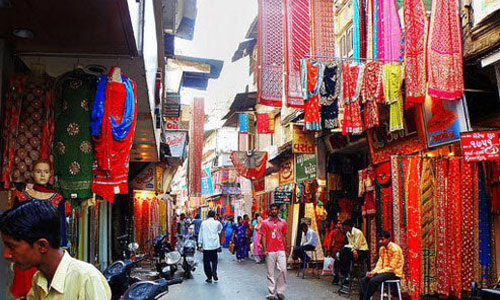 M T cloth market Indore
