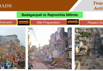Badaganpati to Rajmohalla Road
